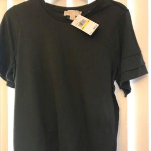 Michael Kors Dark Green shirt
